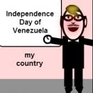 July 5 Independence Day of Venezuela