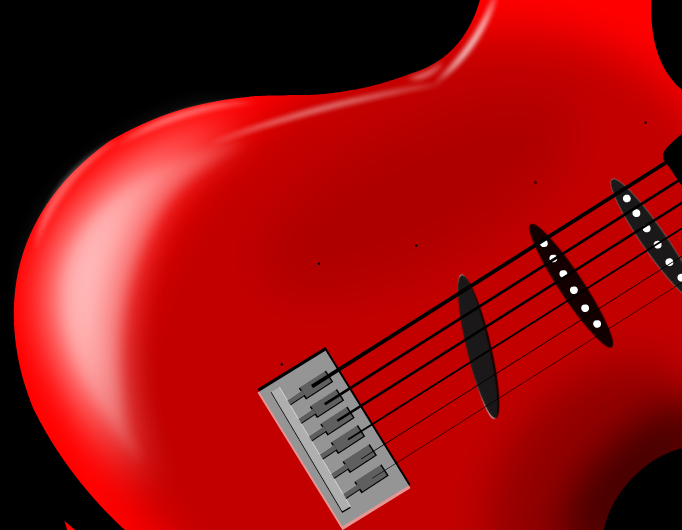 Red Guitar