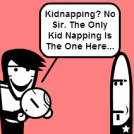 Kidnapper Fred!