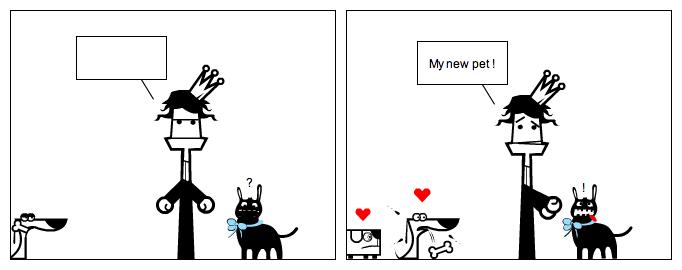 Asha's new pet!