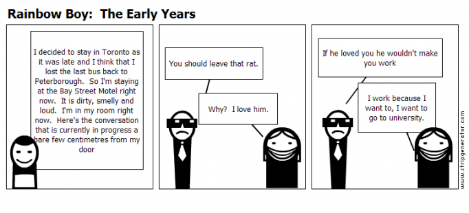 Rainbow Boy:  The Early Years