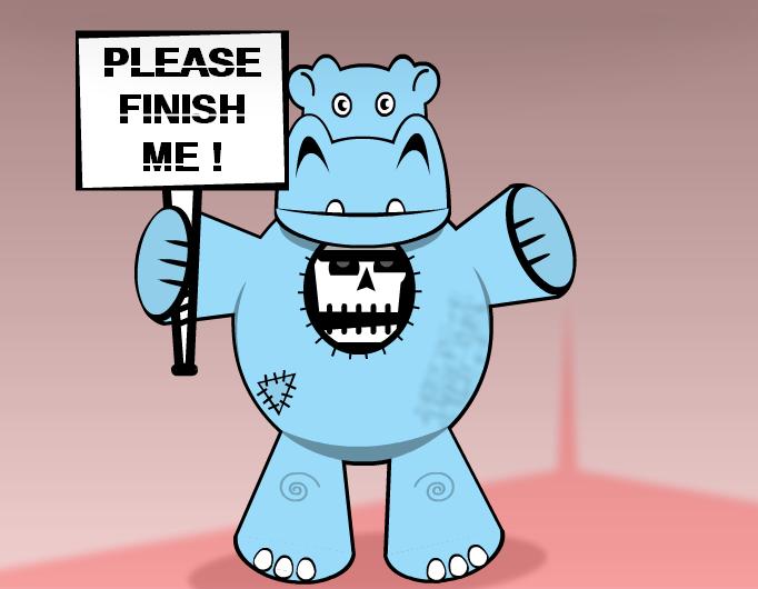 Hippo's costume