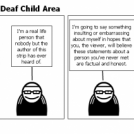 Sonic Boom Over A Deaf Child Area