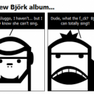 SluggoBear and the new Bjork album...