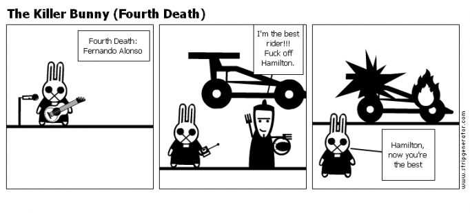 The Killer Bunny (Fourth Death)