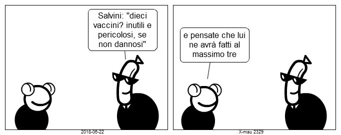(2329) dacci oggi il nostro Salvini quotidiano