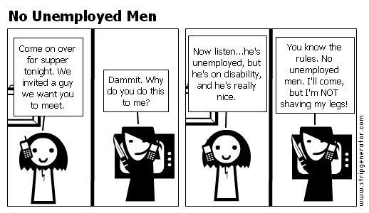 No Unemployed Men