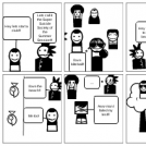 English Comic Strip Project (Ch. 1 - 4) BY Haris