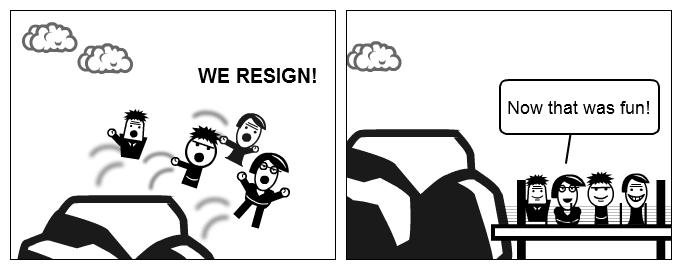 Mass-resignations