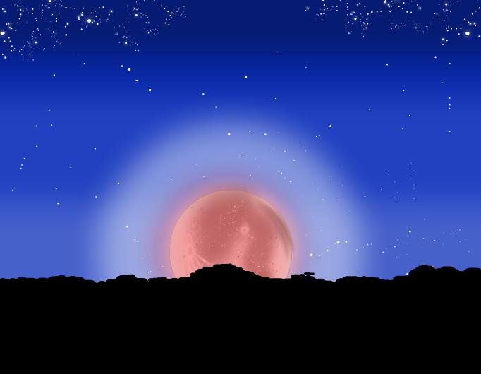 Angry Moon Rising