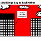 What Buildings Say to Each Other