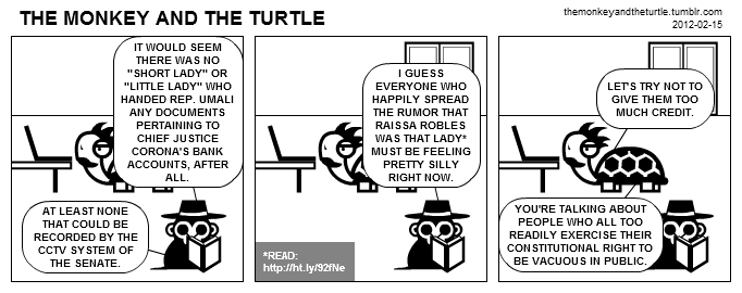 The Monkey and the Turtle (2012-02-15)