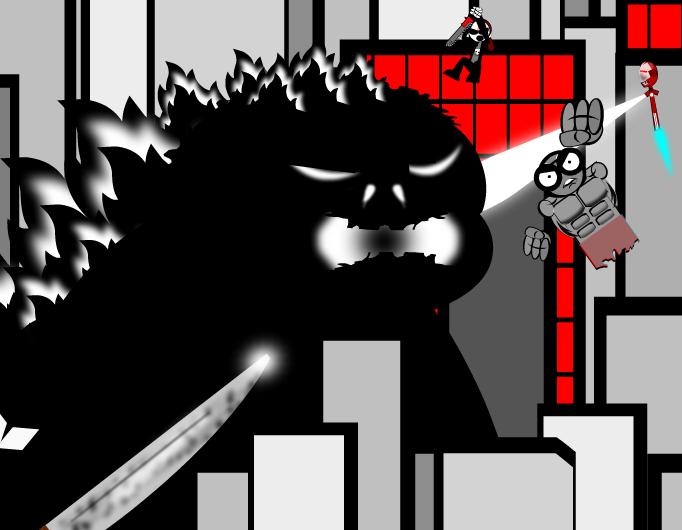 Godzilla hunters