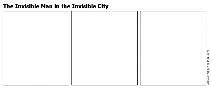 The Invisible Man in the Invisible City