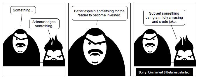 Steve's Half-Assed Comic