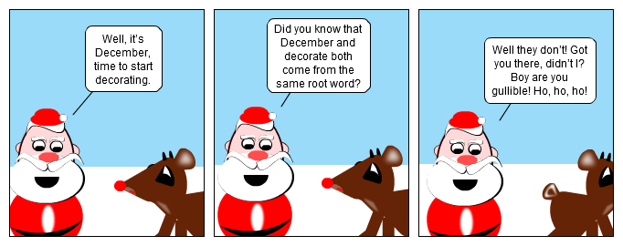 Deck The Claus