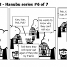Elevator Comic # 93 - Hanubu series #6 of 7
