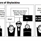 The Three Muskateers of Shylockina