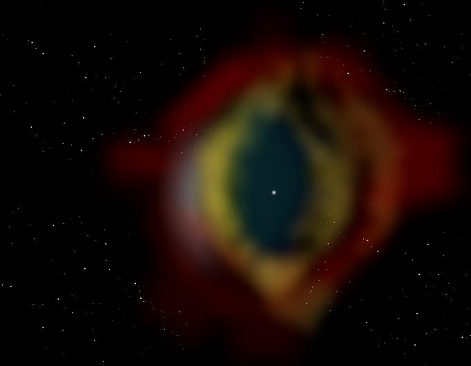 White Dwarf and a Planetary Nebula