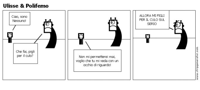 Ulisse & Polifemo