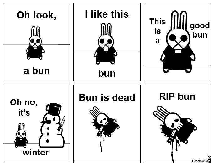 Oh look, a bun