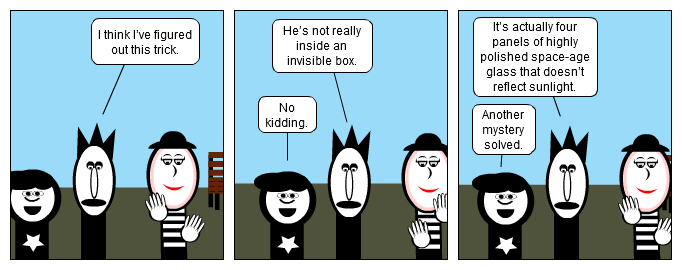 Mime Greatest Illusion
