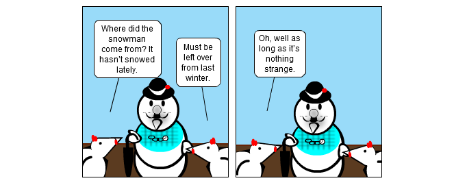 Where Snowman Has Gone