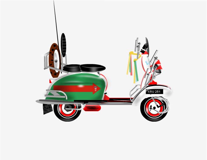 """""""Jimmy Bike"""" Lambretta 1967"""