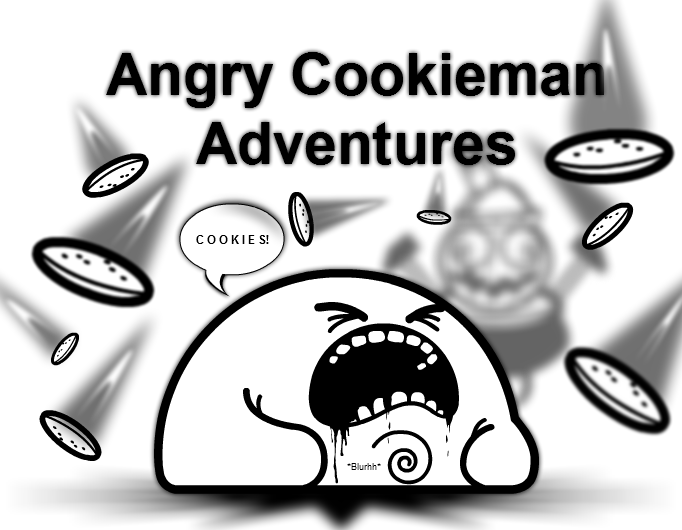 Angry Cookieman Adventures Cover