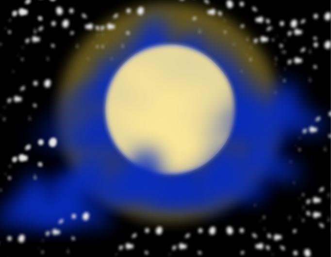 Beautiful moon.