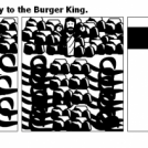 Mozes finds the way to the Burger King.