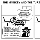 The Monkey and the Turtle (2012-02-08)