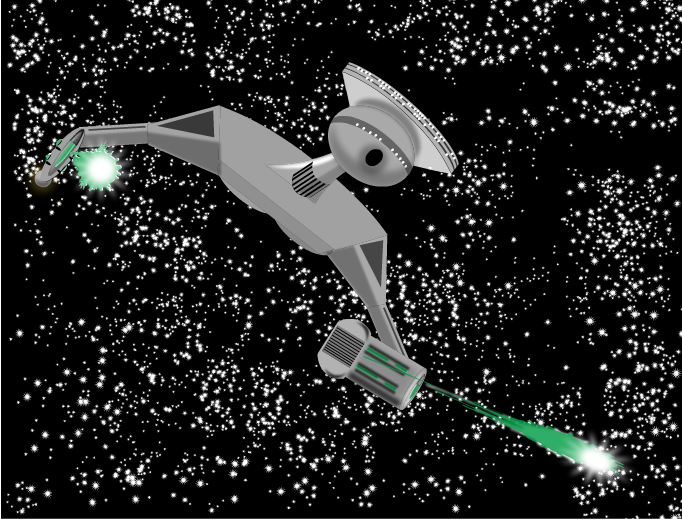 Klingon attack!