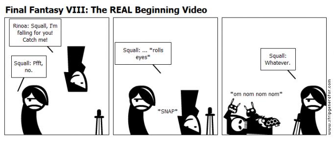 Final Fantasy VIII: The REAL Beginning Video