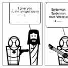 Spiderman Gets his Powers