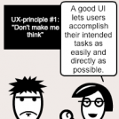 UX principles vs hunches