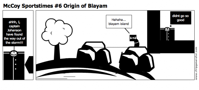 McCoy Sportstimes #6 Origin of Blayam