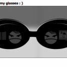Nice type in my glasses : )