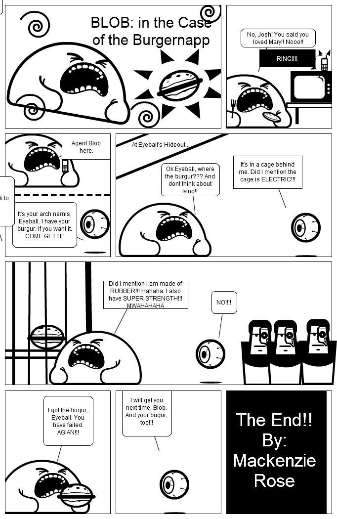 BLOB: In the Case of the Burgernapp!!!