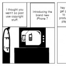 CopyRight comic strip