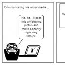 Life on social media