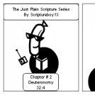 The Just Scripture Series/Chapter #2