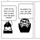 Evil plan fail