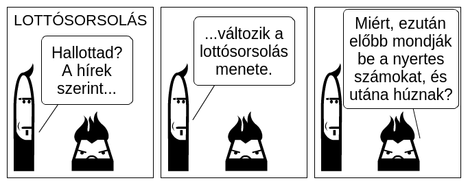 Lottósorsolás