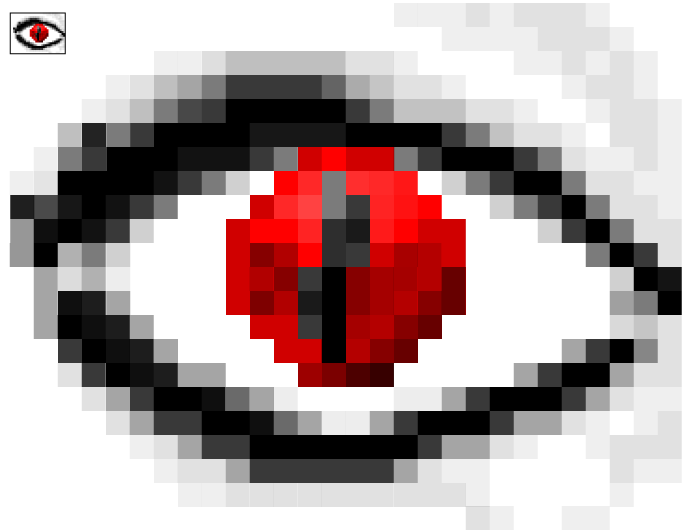 'Pixel' Eyeball