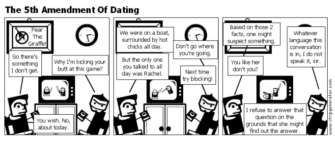 The 5th Amendment Of Dating