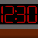 Test: digital clock