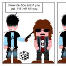 evil dice