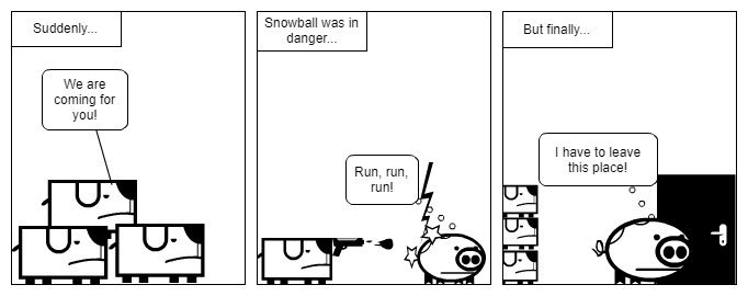 Snowball's race