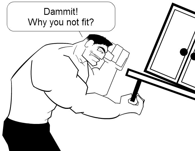 Hulk Goes To IKEA